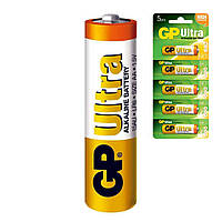 Батарейка щелочная GP 15AU-U5 Ultra Alkaline LR6 AA пальчиковая (блистер)