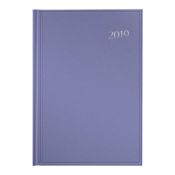 Ежедневник 2019 Стандарт Chameleon светло-фиолетовый