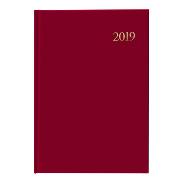 Ежедневник 2019 Стандарт Miradur Trend красный