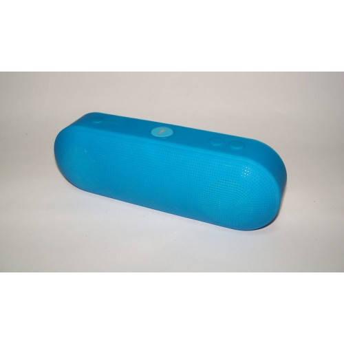 Портативная bluetooth колонка MLL - 60 ФМ, MP3, USB, радио Синий