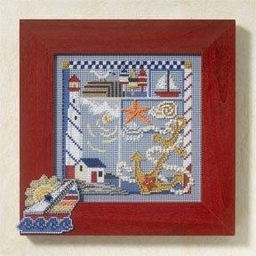 Набор для вышивки Mill Hill Seaside Sampler (2007)