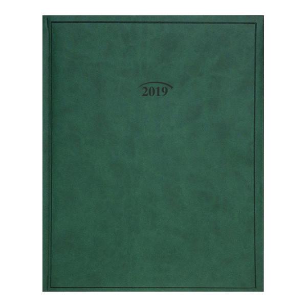 Еженедельник 2019 Бюро Torino слп/т зеленый