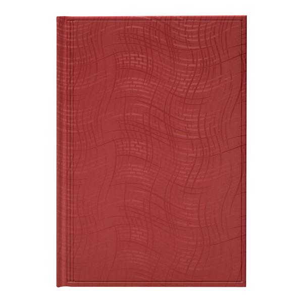 Ежедневник недат Агенда Wave красный