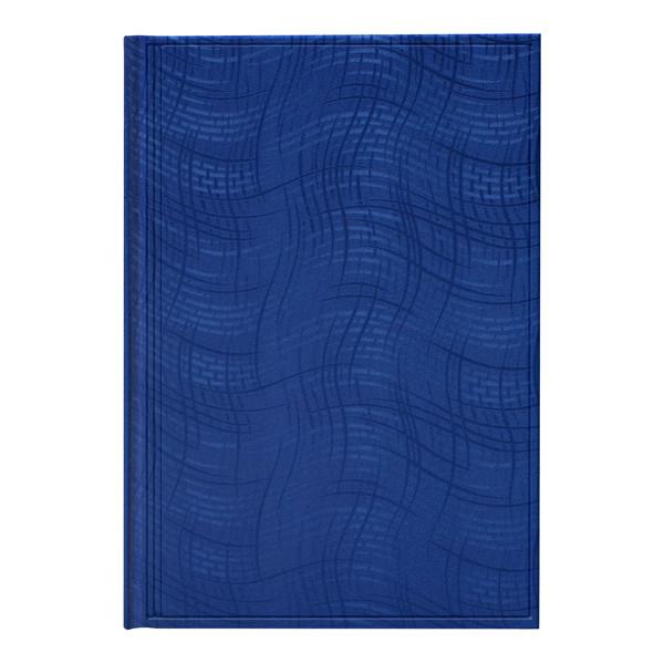 Ежедневник недат Агенда Wave синий