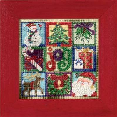 Набор для вышивки Mill Hill Joy of Christmas (2015)