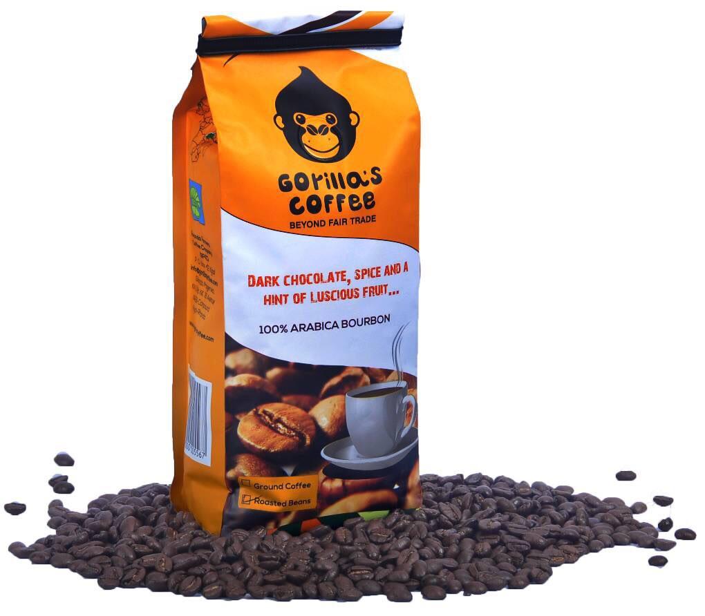 """Кофе молотый 250г Средне-Темная обжарка """"Gorilla's Coffee"""" (Specialty)"""