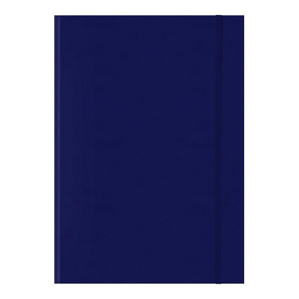 Книга записная Melissa синяя А4, клетка