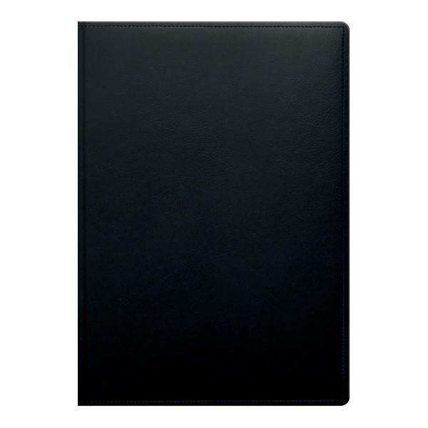 Книга записная Soft черная А4, клетка