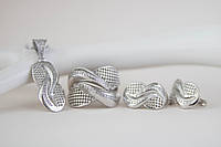 Комплект украшений из серебра , фото 1