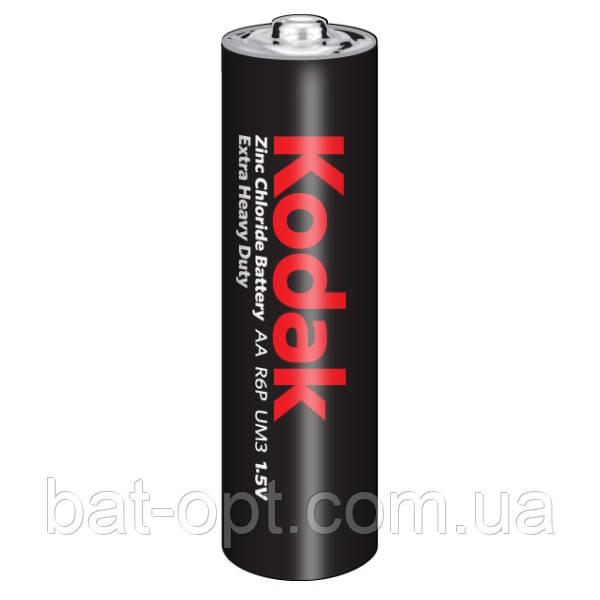 Батарейка солевая Kodak Heavy Duty R6 AA пальчиковая (трей)