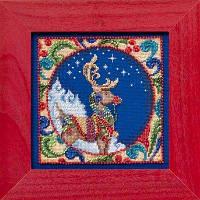 Набор для вышивки Reindeer Jim Shore (2014)