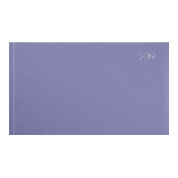 Еженедельник 2019 карманный Chameleon светло-фиолетовый