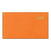 Еженедельник 2019 карманный Wave з/т оранжевый, фото 1