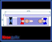 Внутрипольный конвектор Radopol KVK 8 300*1500, фото 1