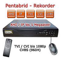 AHD видеорегистратор на 4 камеры MHK-A6608GS, фото 1