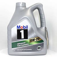 Моторное масло Mobil 1 0W-20 канистра 4л