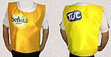 Жилеты с логотипом, рекламные накидки для сбора денег и рекламы, фото 3