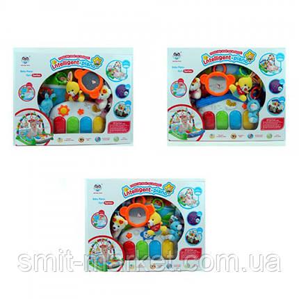Коврик для младенца 698-51-52-53A 82-52см,подвески5шт, фото 2