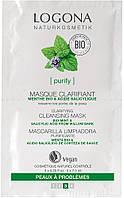 Logona Logona Био-Маска для лица для нормальной и комбинированной кожи Мята, 2х7.5 мл