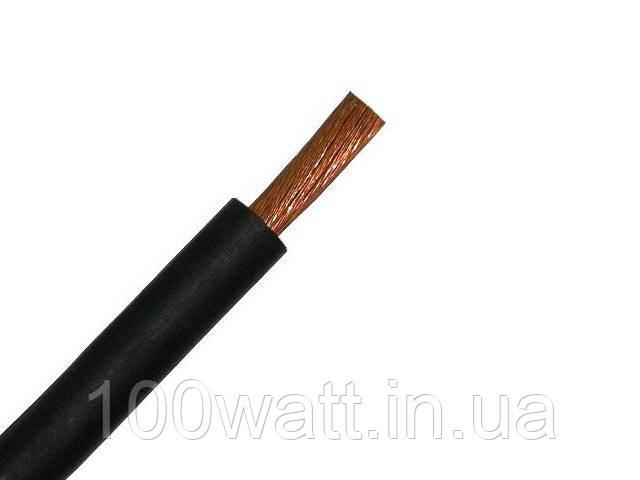 Провод ПВ-1 2,5 черный (монолит) ГОСТ