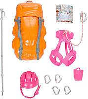 Кукла Барби Подвижная артикуляция 22 точки  Скалолазка / Barbie Made to Move The Ultimate Posable Rock Climber, фото 3