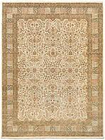 Иранский классический шерстяной ковёр ручной работы с эффектом старения. Шутри. Шерсть. Размер 3660х2720мм.