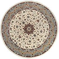 Иранский  классический шерстяной ворсовый ковёр ручной работы. Шутри . Шерсть. Диаметр 2770 мм.