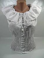 Блузка летняя женская, размеры M(4),L(3), хлопок 100%, арт. 1108/7468