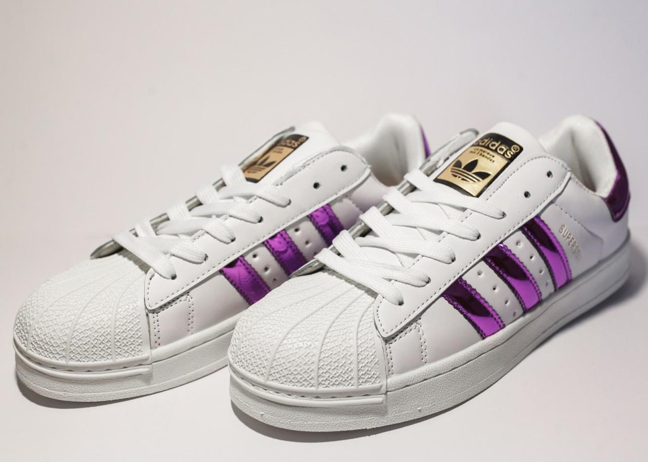 Кроссовки Женские Adidas Superstar (реплика) 30014 — в Категории ... 2375bbdd9c1bb