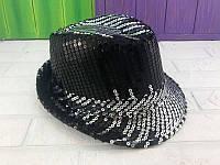 Шляпа диско с серебряными паетками - аксессуар для вашего образа