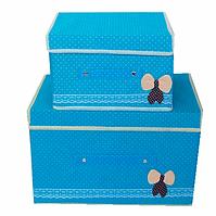 Коробка для хранения вещей Kaila набор 2 в 1