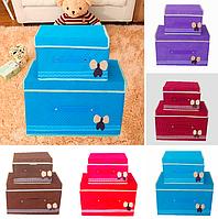 Коробка органайзер для хранения вещей набор 2 в 1