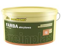 Фасадная краска акрилова база Greinplast FA 13.5 кг. (Польща)