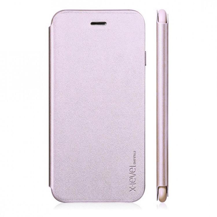 Чехол-накладка для Apple iPhone X X-Level FIB Series Розовая (PC-001191)
