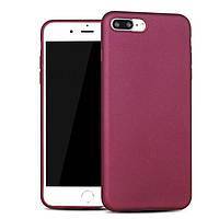 Чехол-накладка для Apple iPhone 8 Plus/7 Plus X-Level PC KNIGHT Темно-розовая (PC-000791), фото 1