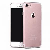 Чехол-накладка для Apple iPhone 8/7 X-Level TPU ANTI-SLIP Прозрачная (PC-000726), фото 1