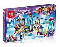 """Конструктор Lepin 01042 """"Горнолыжный курорт: подъёмник"""" 632 детали. Аналог Lego Friends 41324, фото 1"""