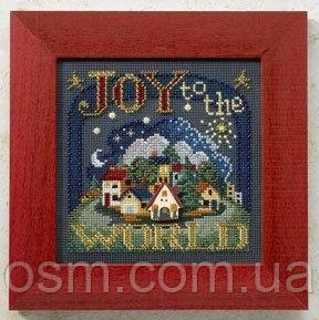 Набор для вышивки Mill Hill Joy to the World (2008