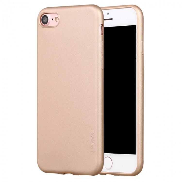 Чехол-накладка для Apple iPhone 6/6s X-Level TPU Guardian Золотая (PC-000750)