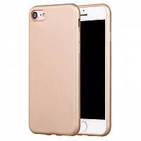 Чехол-накладка для Apple iPhone 6/6s X-Level TPU Guardian Золотая (PC-000750), фото 1
