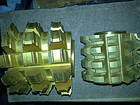 Фрезы шлицевые. Тип 1. Тип 2. Р6М5 в ассортименте СССР