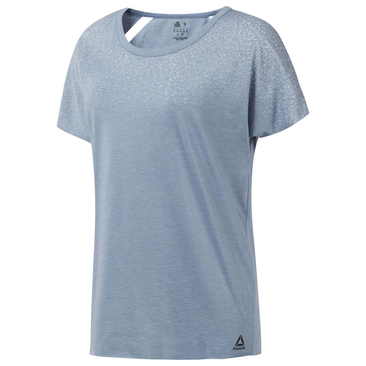 Женская футболка Reebok Distressed (Артикул: CY4930)
