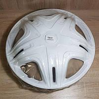 Колпак колеса декоративный R 16 Газель переднего Дакар белый (комплект 2 шт) (пр-во STAR)