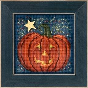 Набор для вышивки Mill Hill Midnight Pumpkin (2013)