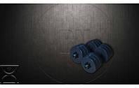 Разборные гантели общим весом по 11 кг, по 16 кг, по 21 гр и 26 кг