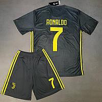 Футбольная форма Ювентус Ronaldo (Роналдо) сезон 2018-2019 резервная серая 5e5c182366e