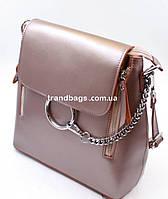 Сертифицированная компания Подробнее. 920UAH. 920 грн. В наличии. Женский  кожаный рюкзак 968 pearl pink кожаные женские рюкзаки недорого купить b8f0c7c2226