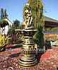 Декоративный фонтан Девушка на камне, фото 3