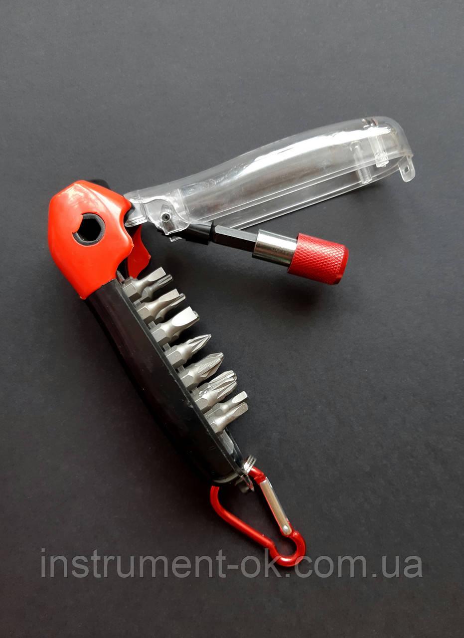 Набор бит с магнитным держателем MTX (17 предметов)