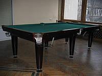 Бильярдный стол 10 футов бу. Бильярд русский с комплектом.